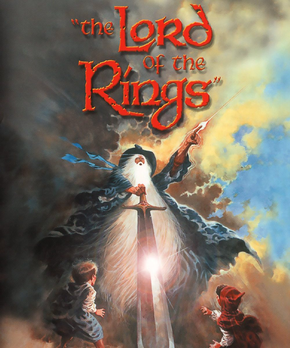 "Poster for the movie ""The Lord of the Rings"""