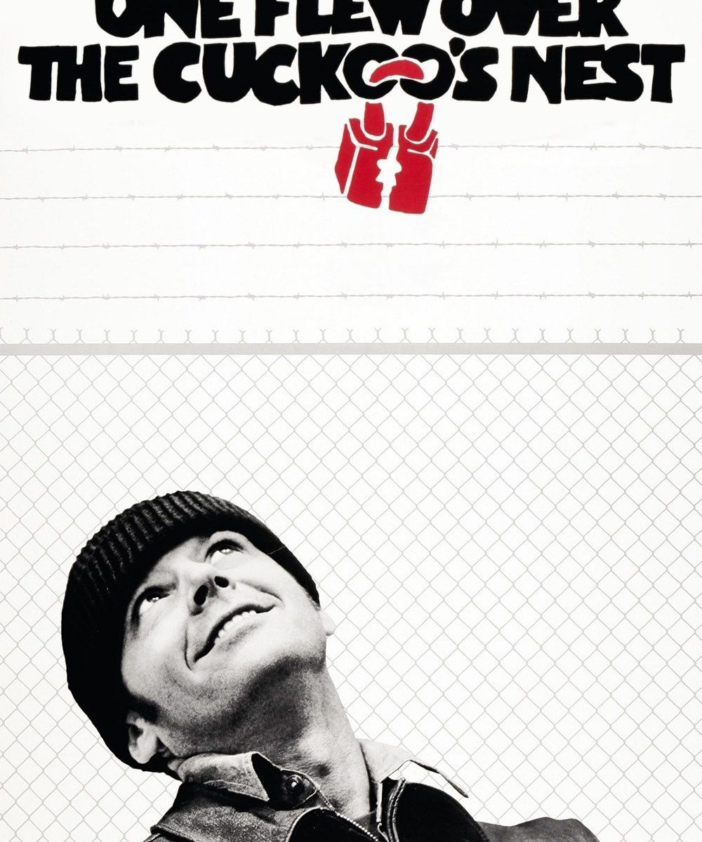 "Poster for the movie ""One Flew Over the Cuckoo's Nest"""