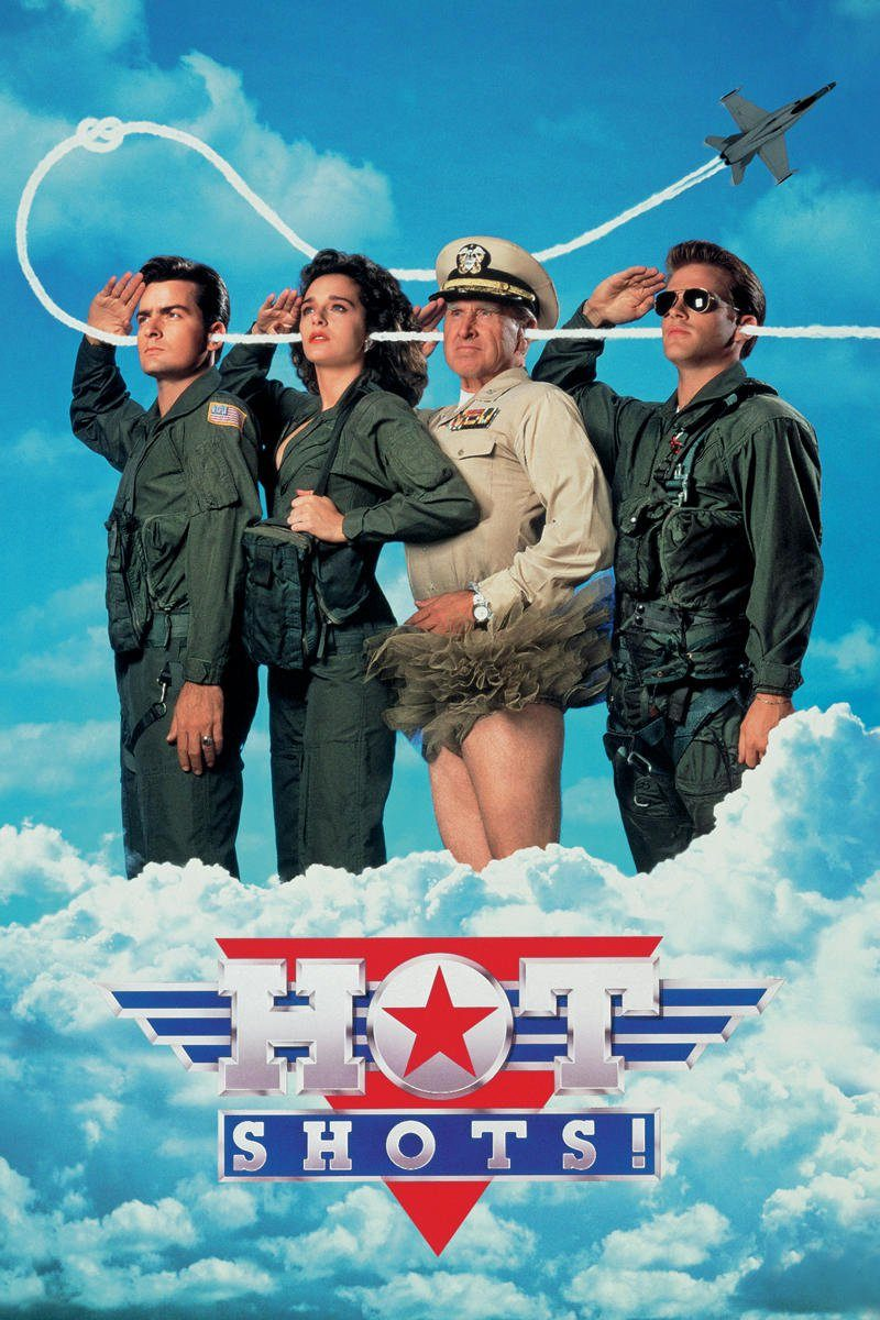 "Poster for the movie ""Hot Shots!"""