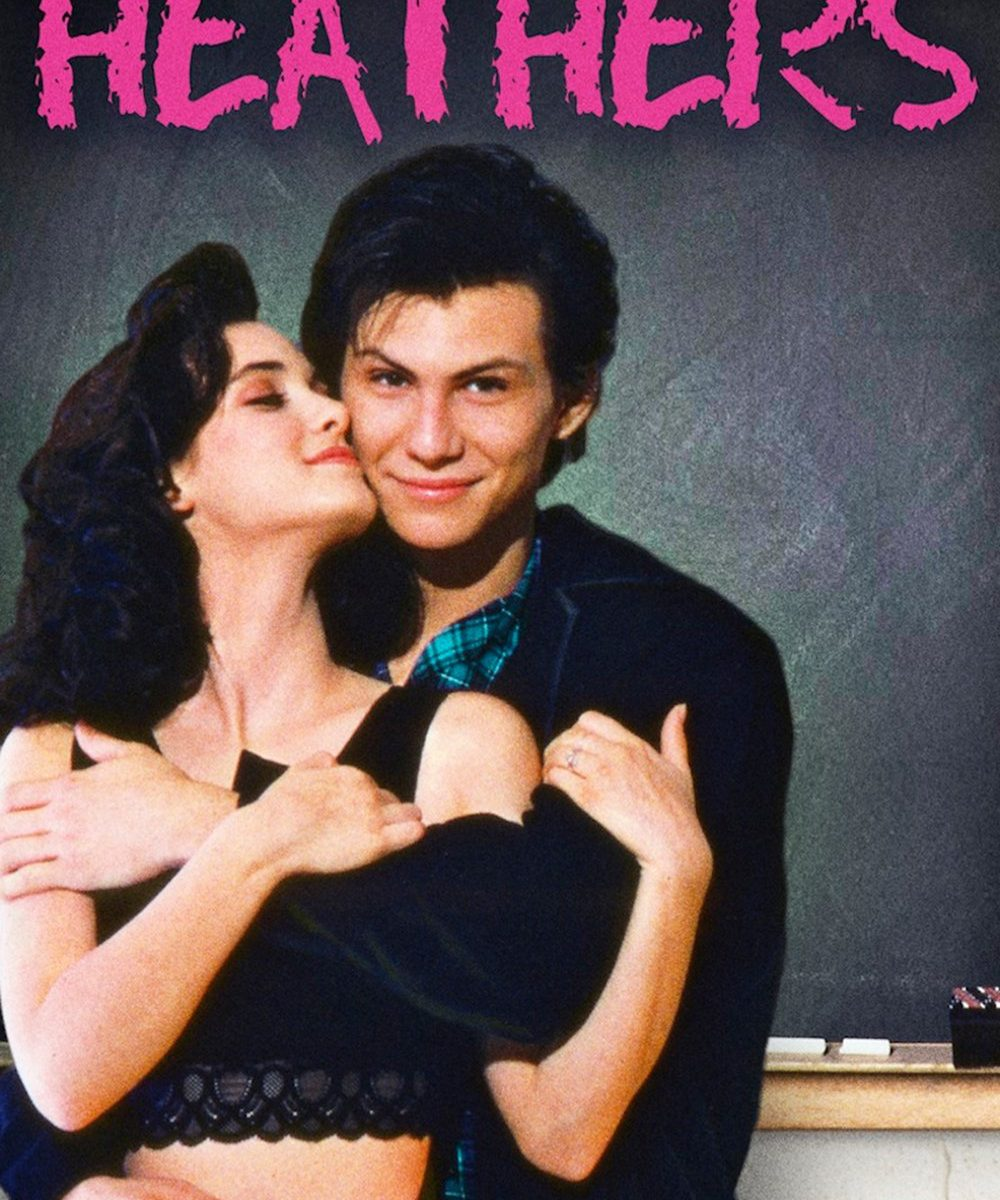 "Poster for the movie ""Heathers"""
