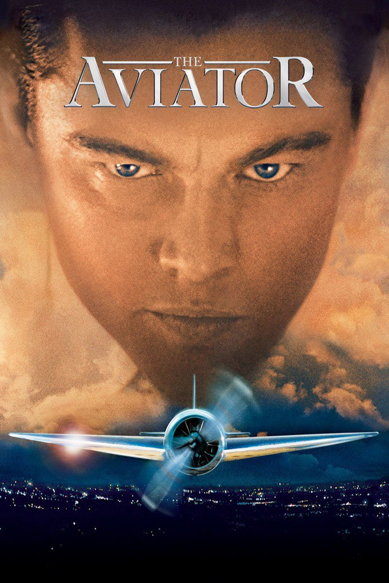 "Poster for the movie ""The Aviator"""
