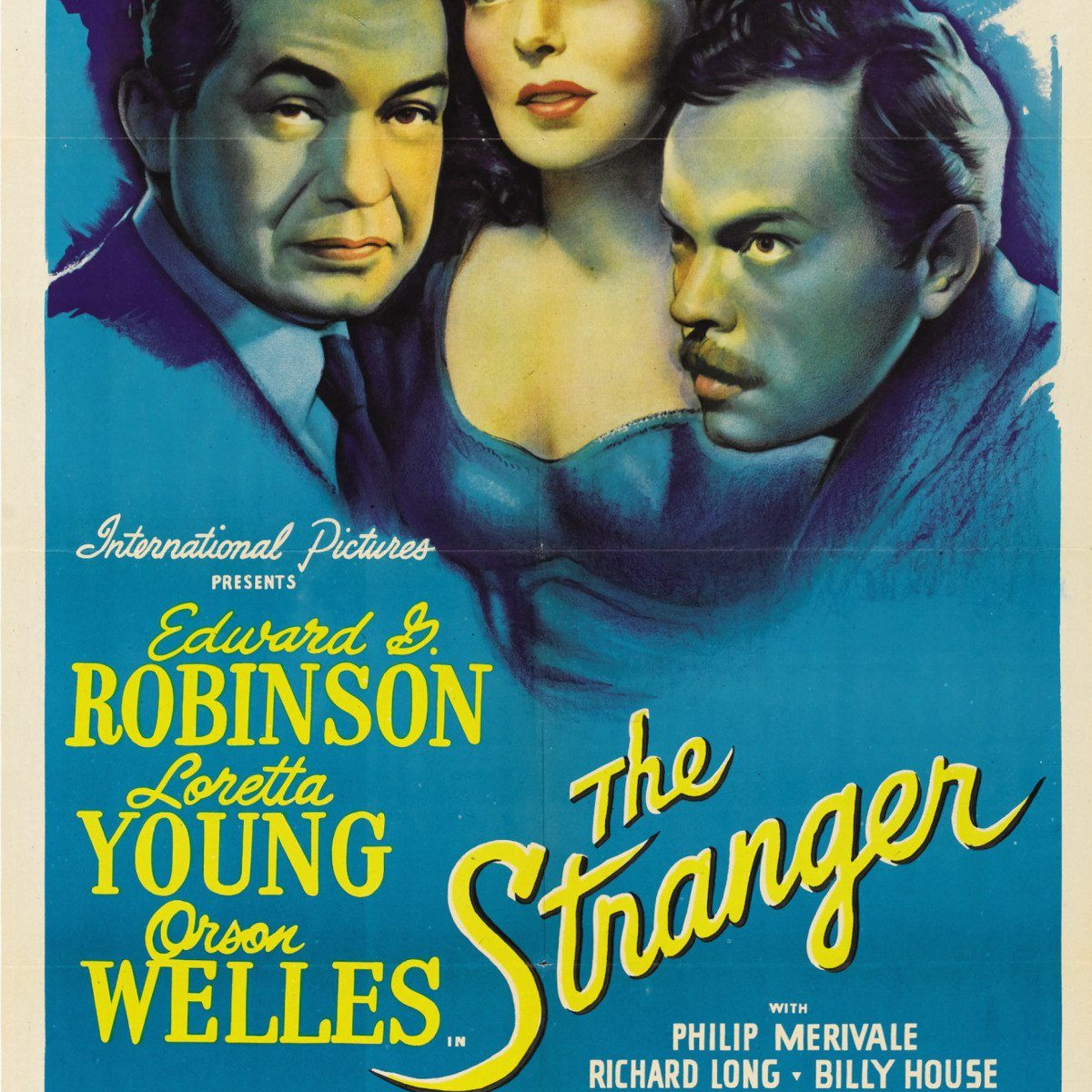 "Poster for the movie ""The Stranger"""