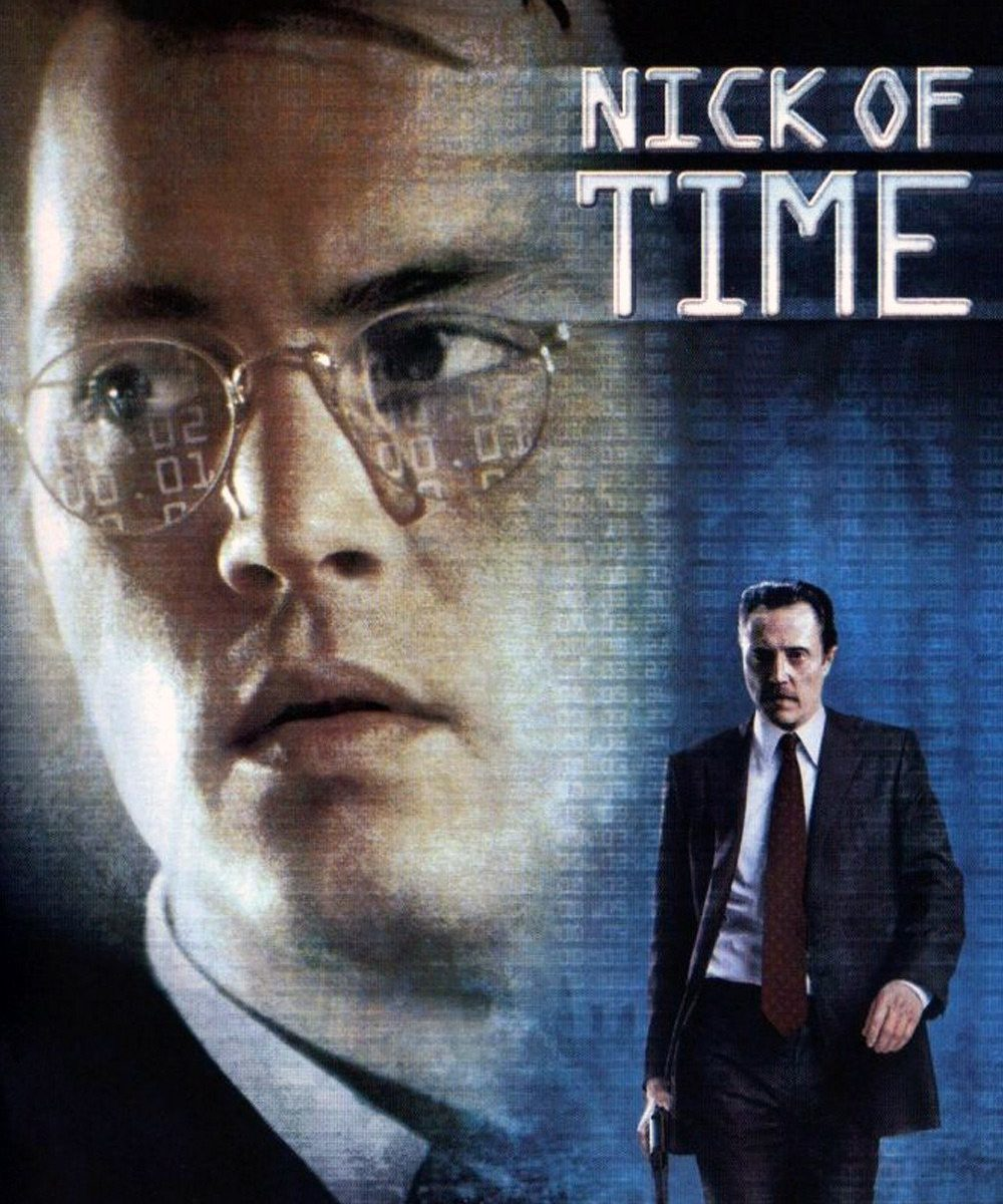 "Poster for the movie ""Nick of Time"""