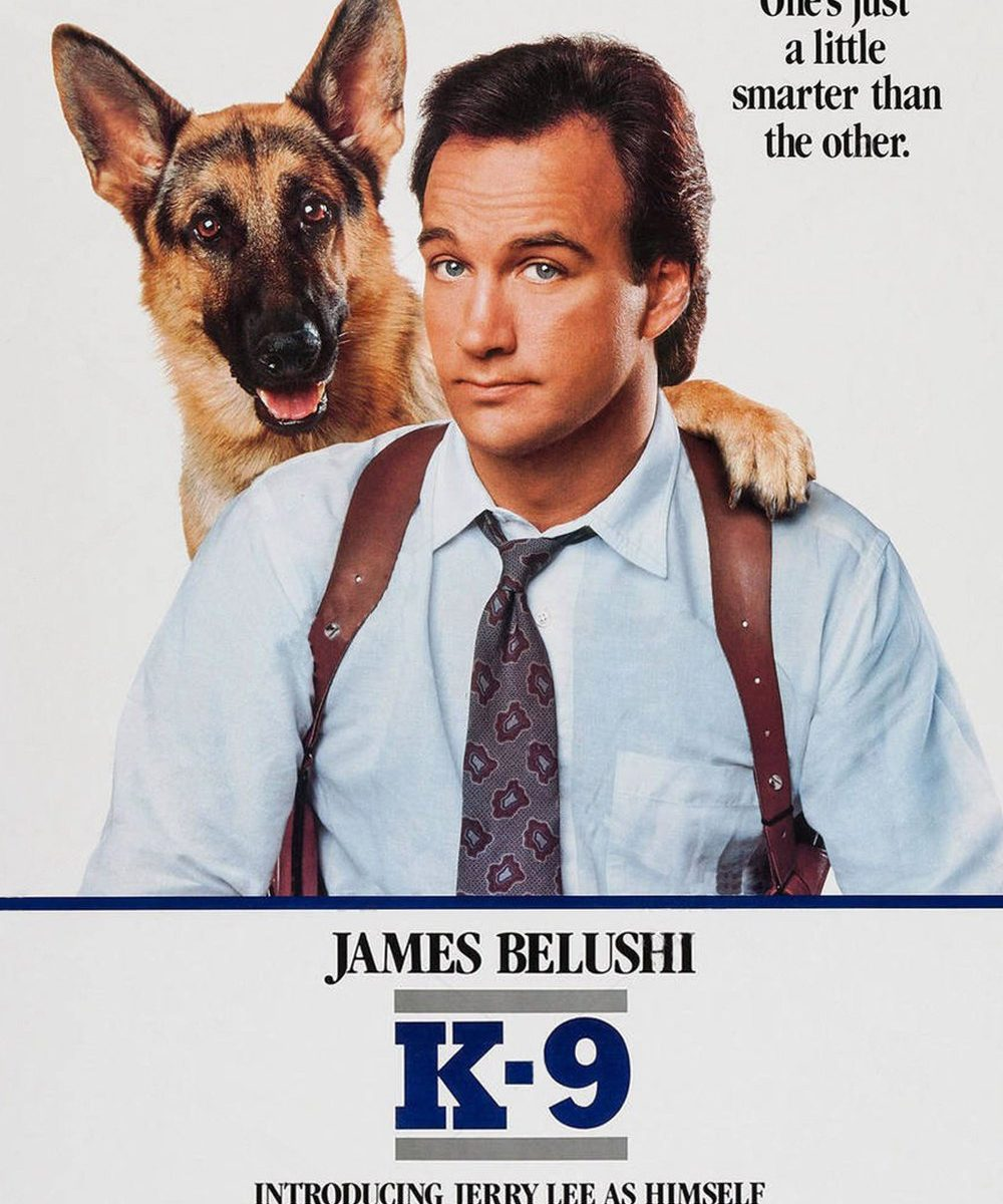 "Poster for the movie ""K-9"""