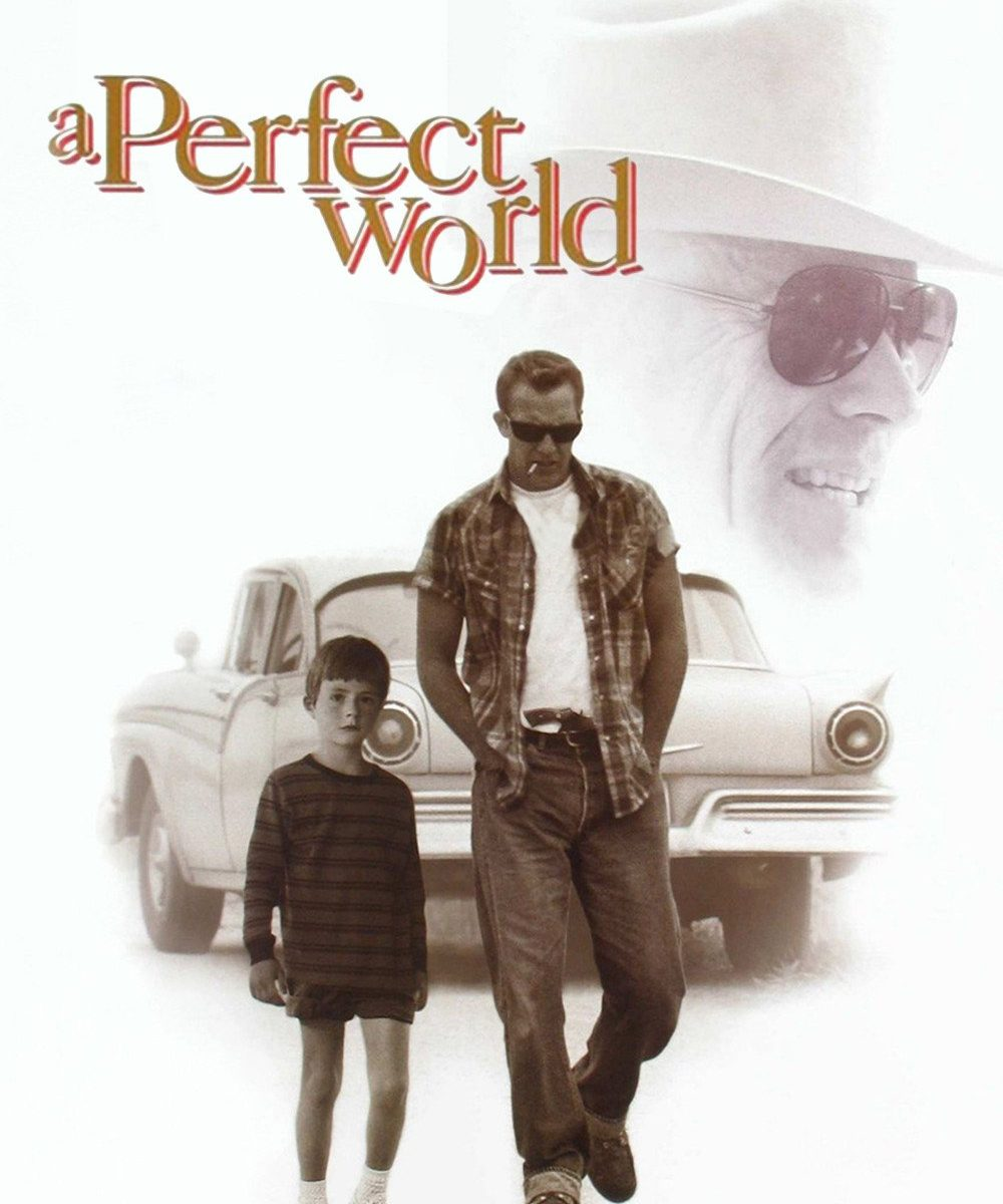 "Poster for the movie ""A Perfect World"""