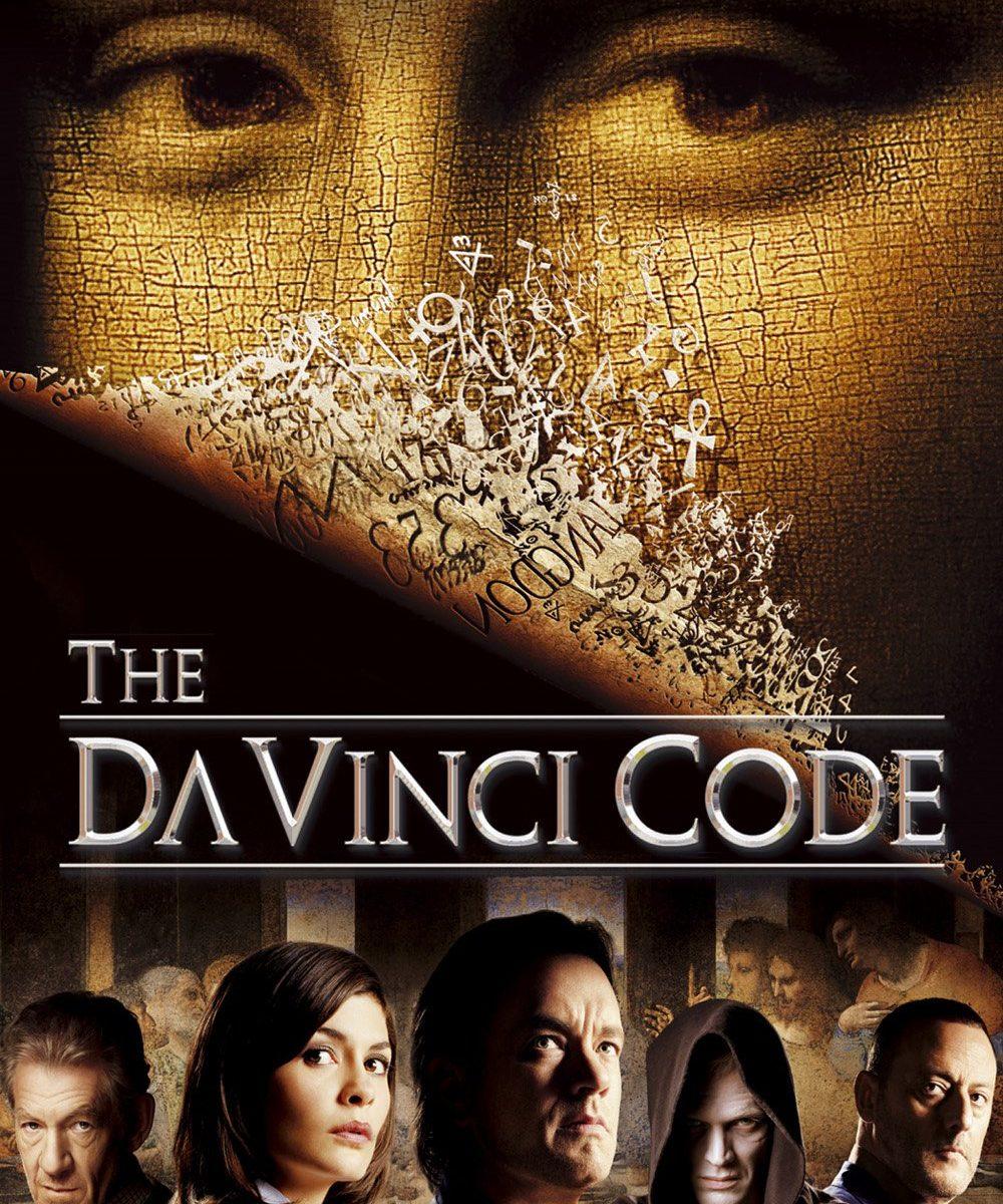 "Poster for the movie ""The Da Vinci Code"""