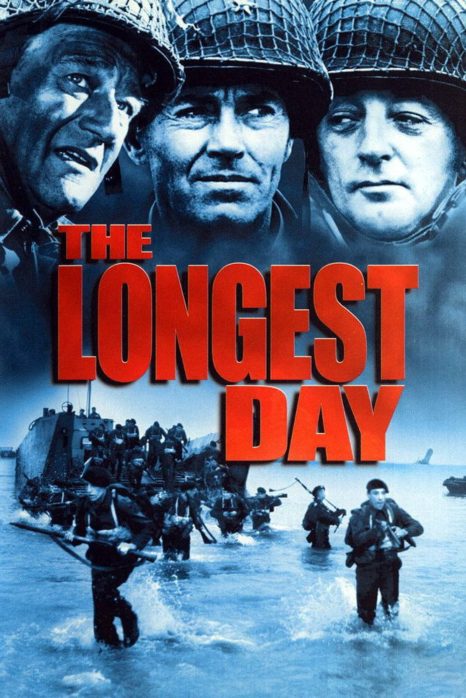"Poster for the movie ""The Longest Day"""