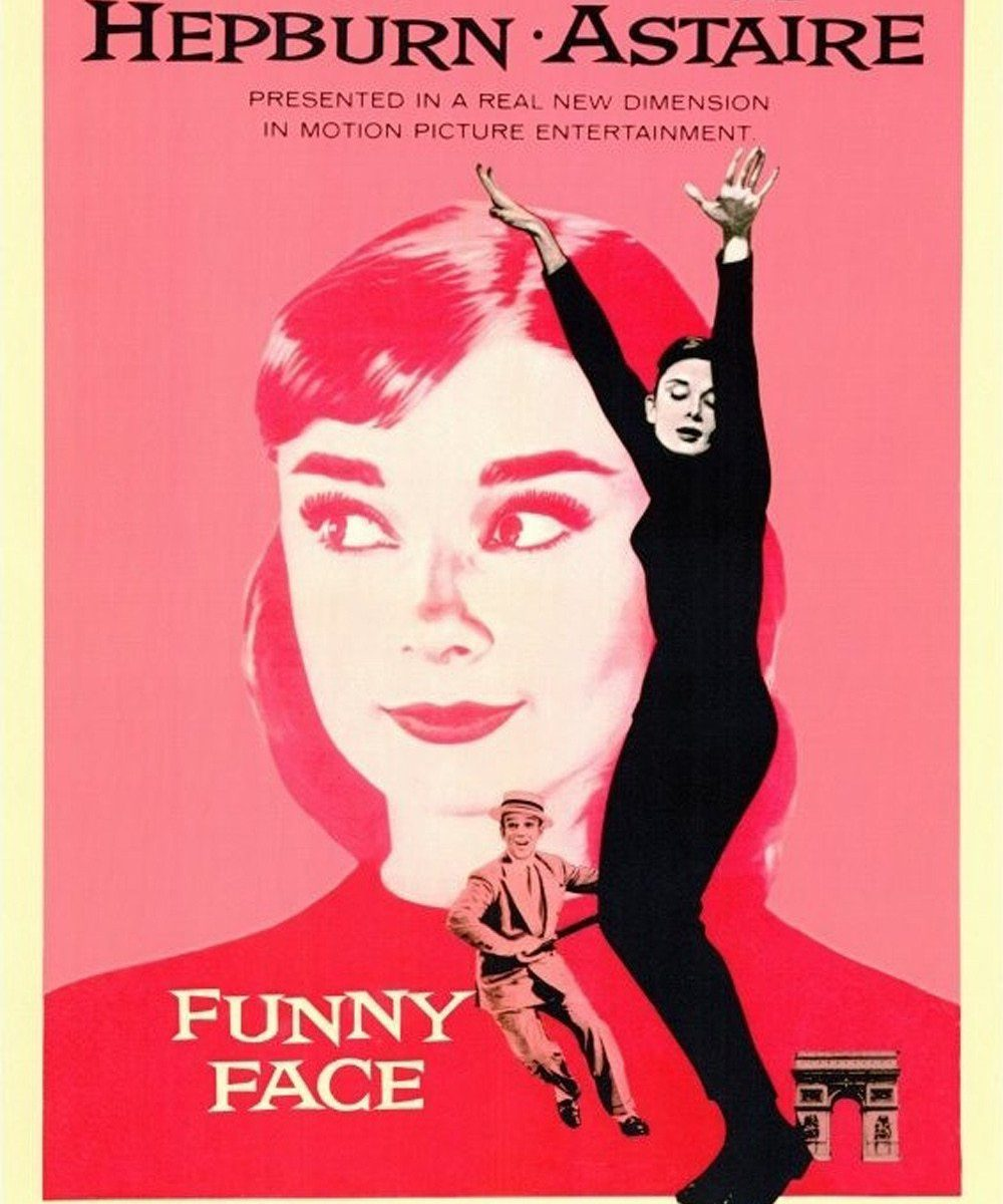 "Poster for the movie ""Funny Face"""