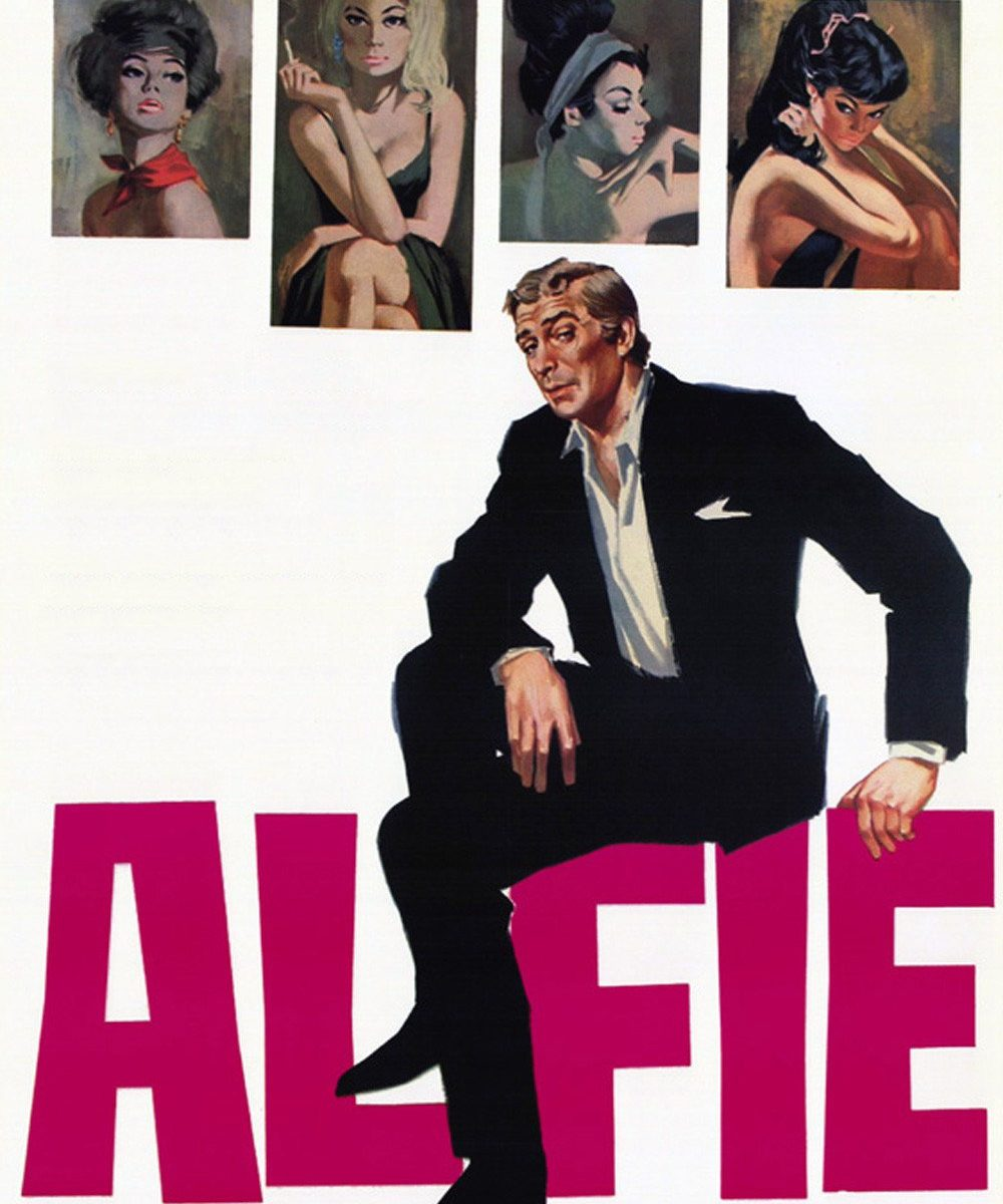 "Poster for the movie ""Alfie"""