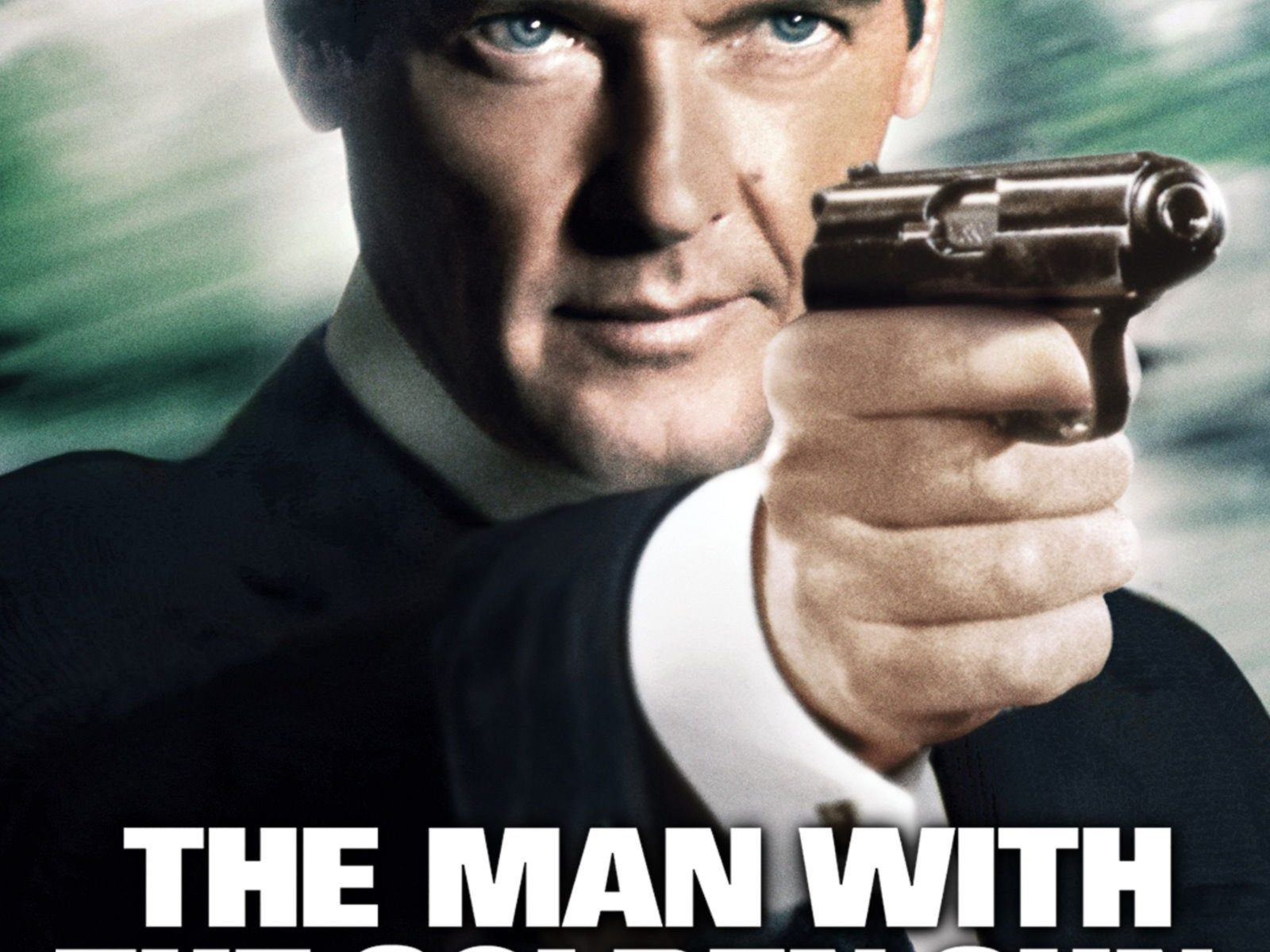 "Poster for the movie ""The Man with the Golden Gun"""