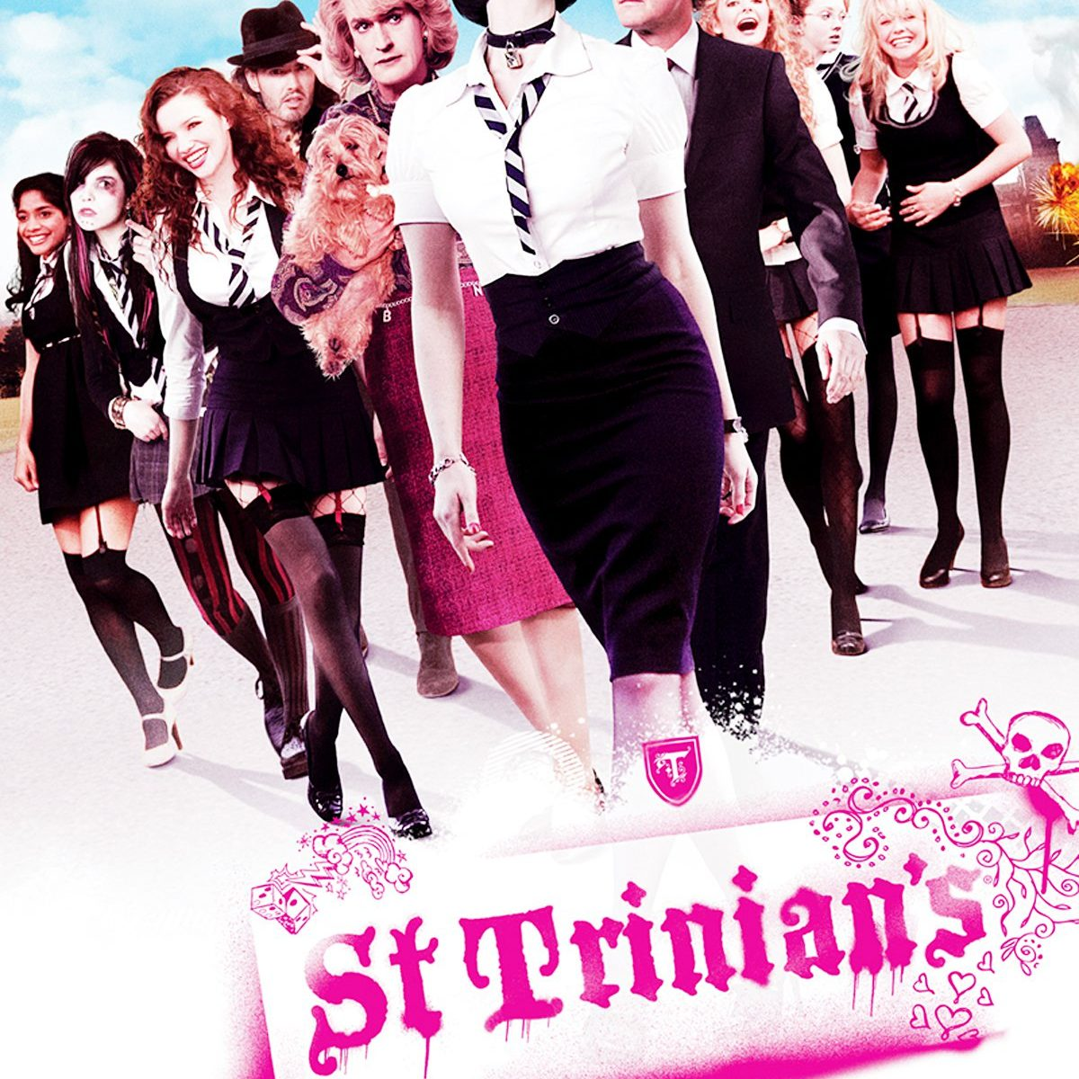 "Poster for the movie ""St. Trinian's"""