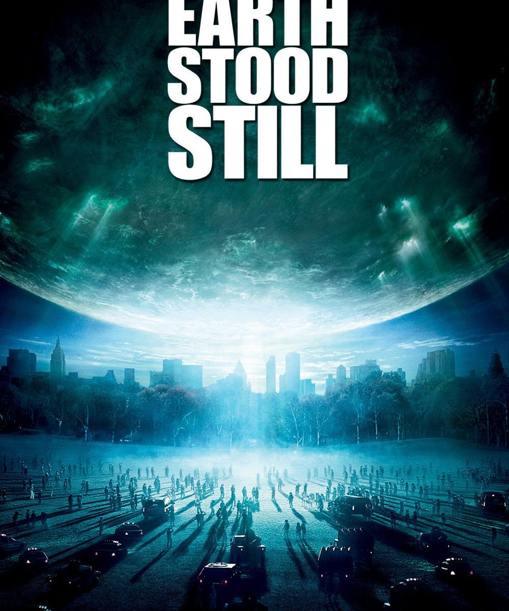 "Poster for the movie ""The Day the Earth Stood Still"""