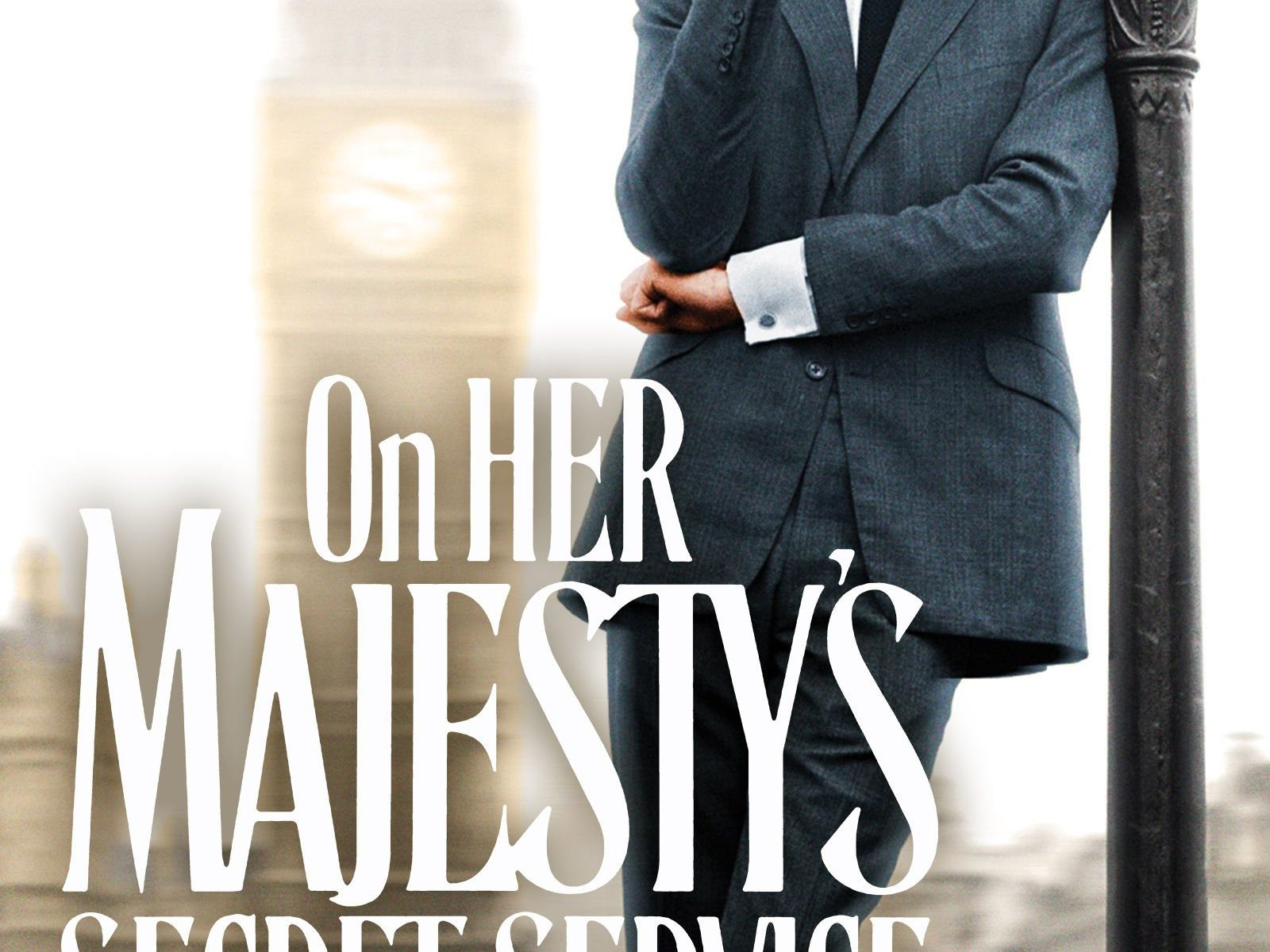 "Poster for the movie ""On Her Majesty's Secret Service"""