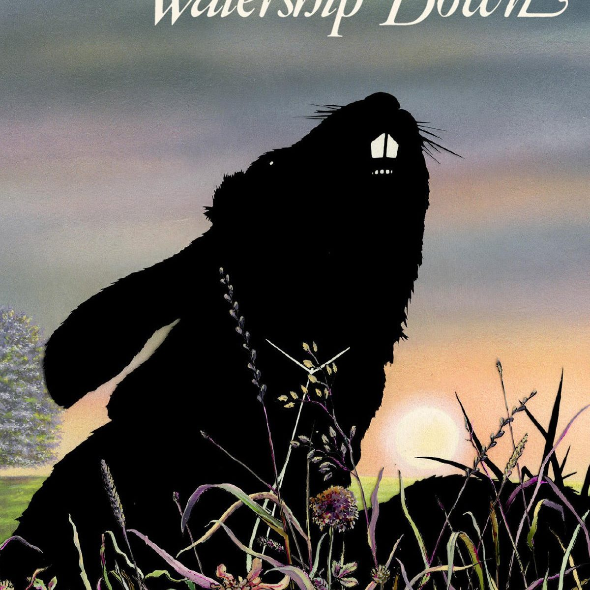 "Poster for the movie ""Watership Down"""