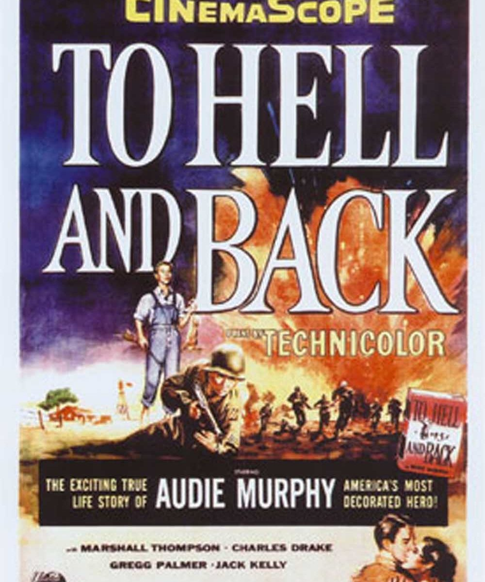 "Poster for the movie ""To Hell and Back"""