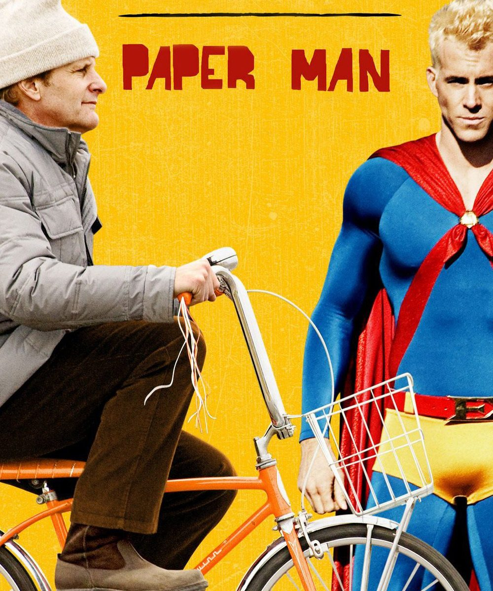 "Poster for the movie ""Paper Man"""