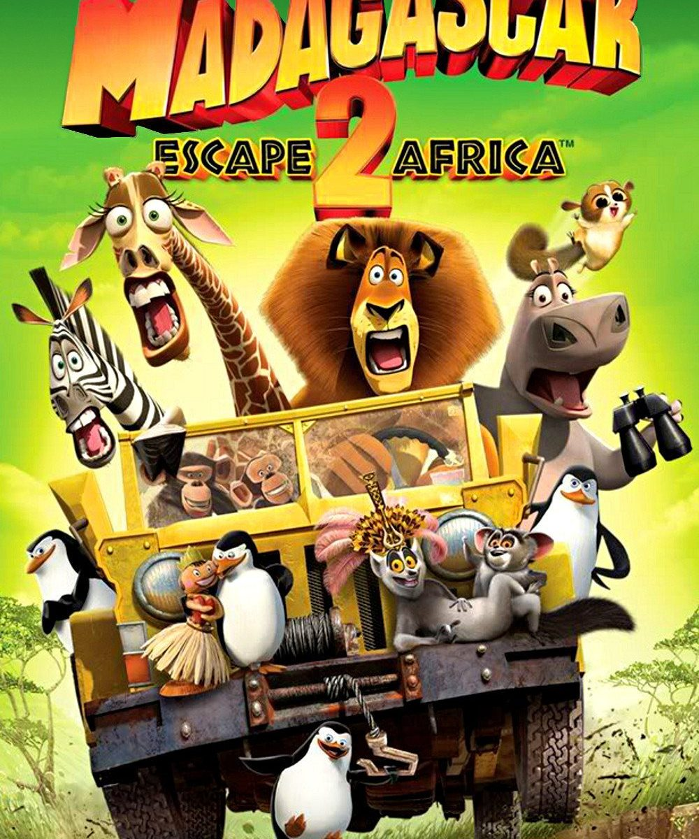 "Poster for the movie ""Madagascar: Escape 2 Africa"""