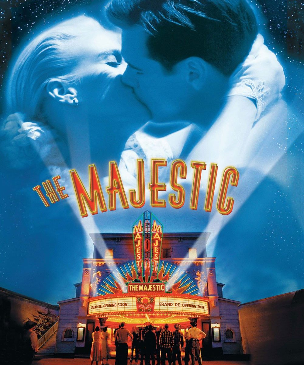 "Poster for the movie ""The Majestic"""