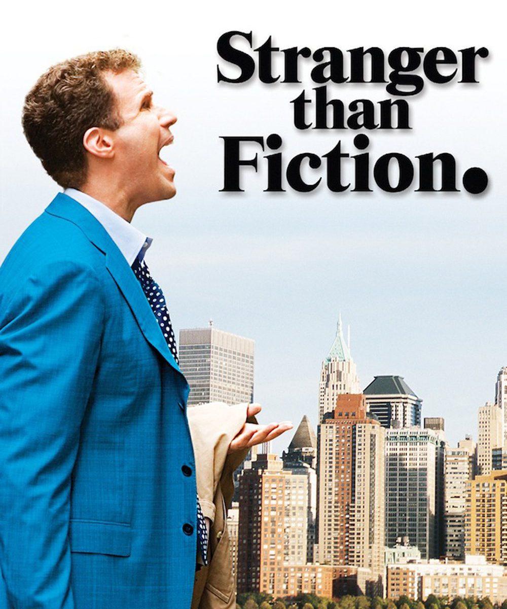 "Poster for the movie ""Stranger Than Fiction"""