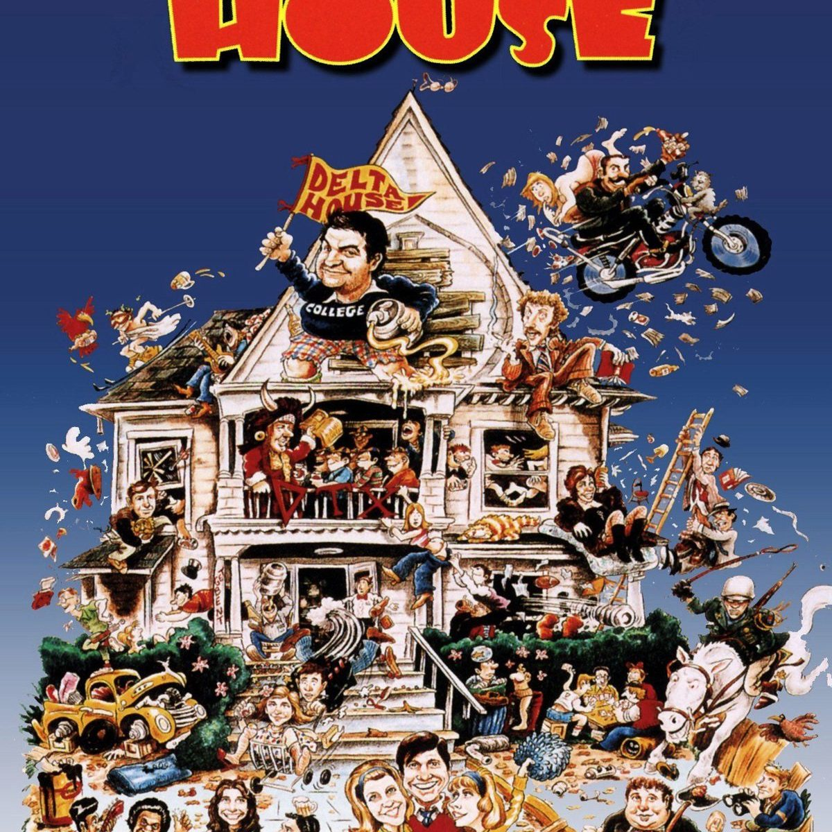 "Poster for the movie ""Animal House"""