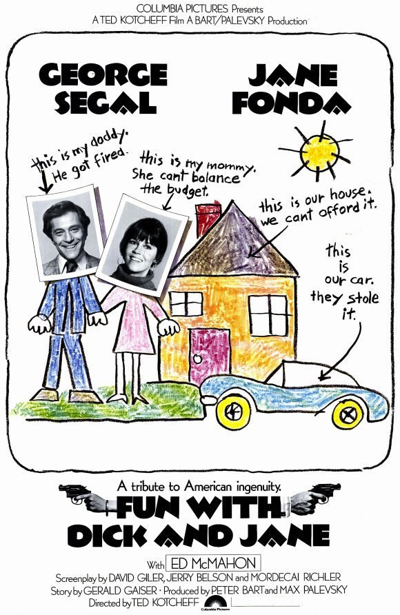 """Poster for the movie """"Fun with Dick and Jane"""""""