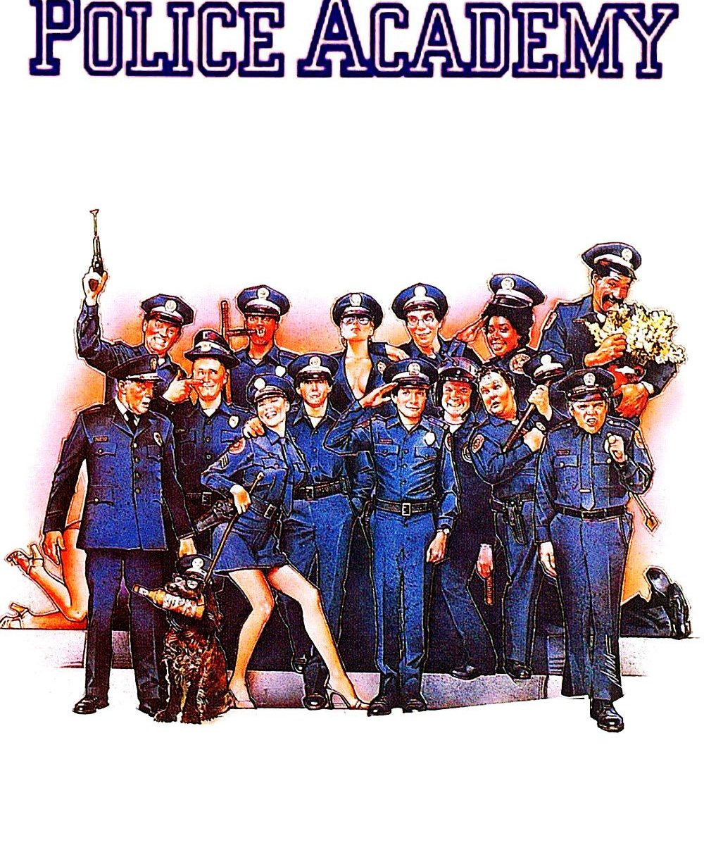 "Poster for the movie ""Police Academy"""