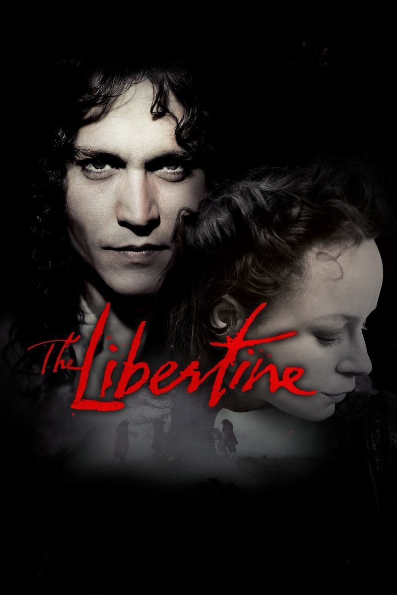 "Poster for the movie ""The Libertine"""