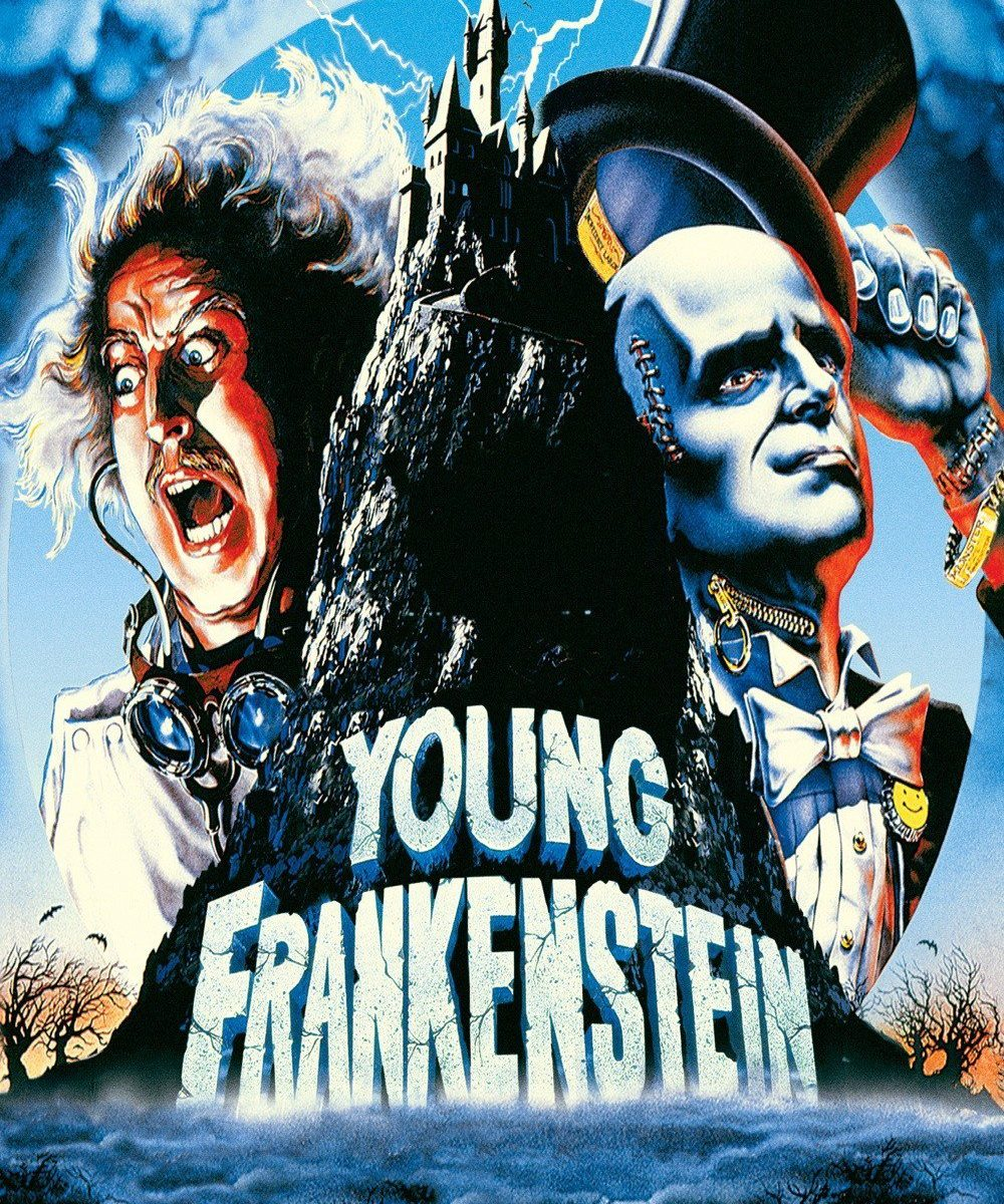 "Poster for the movie ""Young Frankenstein"""