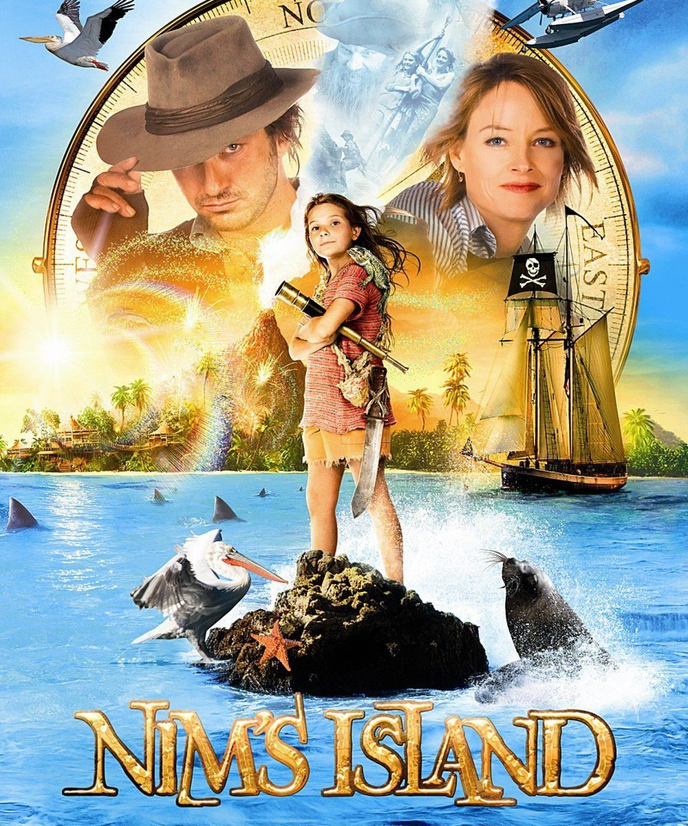 "Poster for the movie ""Nim's Island"""