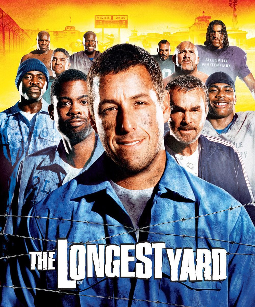 "Poster for the movie ""The Longest Yard"""