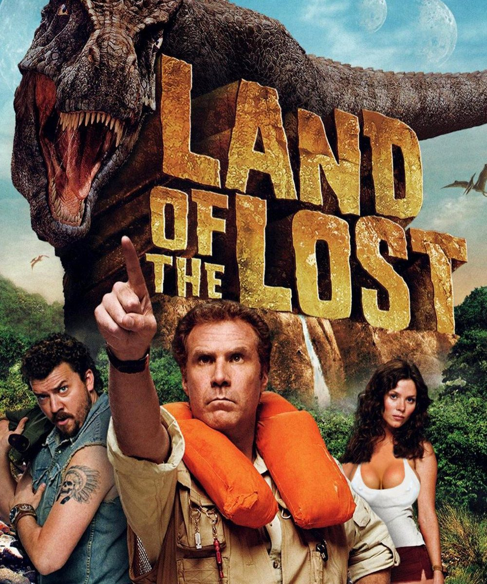 """Poster for the movie """"Land of the Lost"""""""