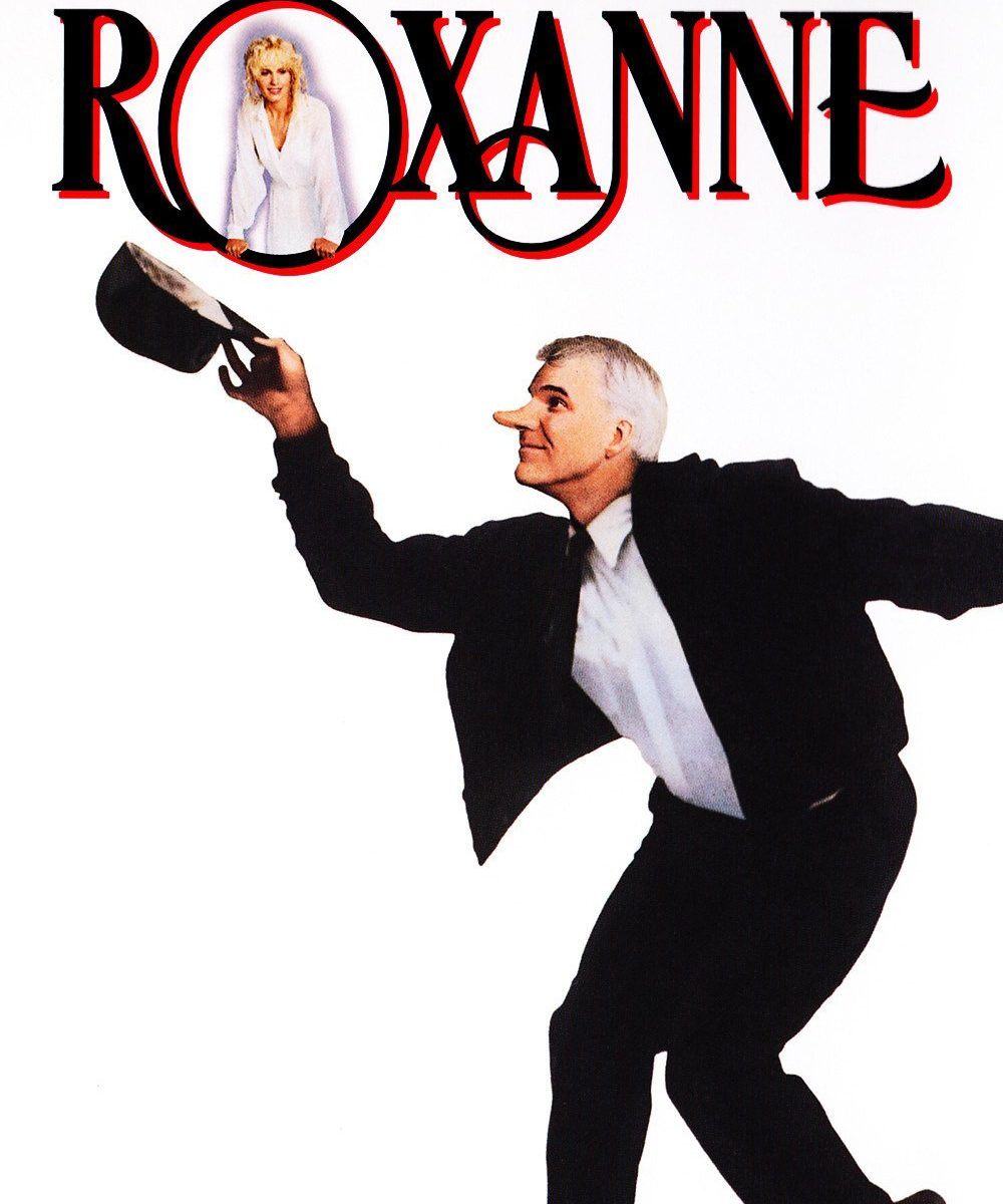 "Poster for the movie ""Roxanne"""