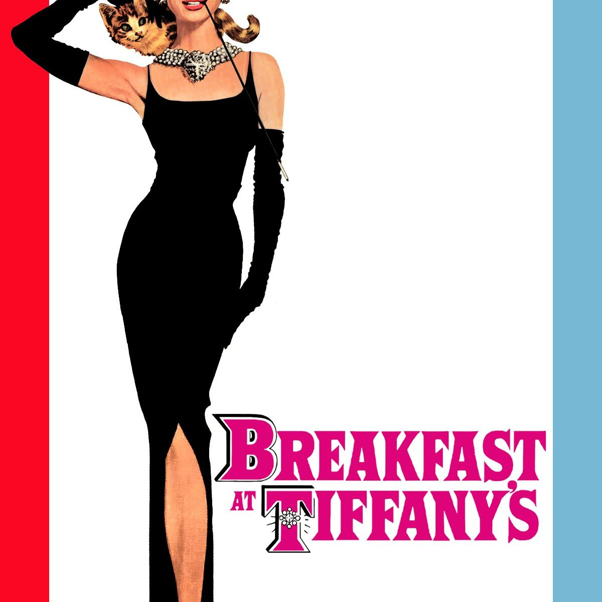 "Poster for the movie ""Breakfast at Tiffany's"""