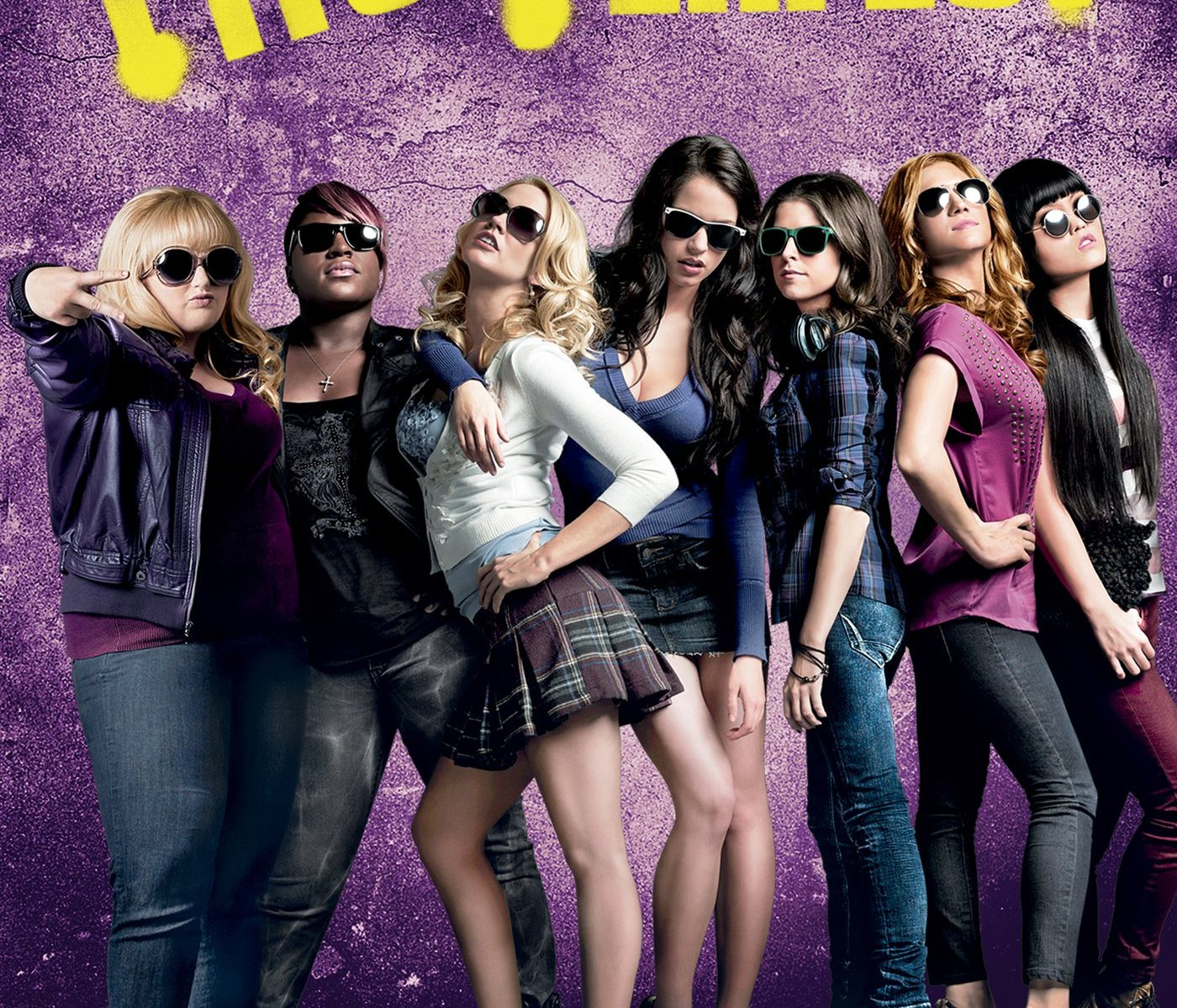 "Poster for the movie ""Pitch Perfect"""