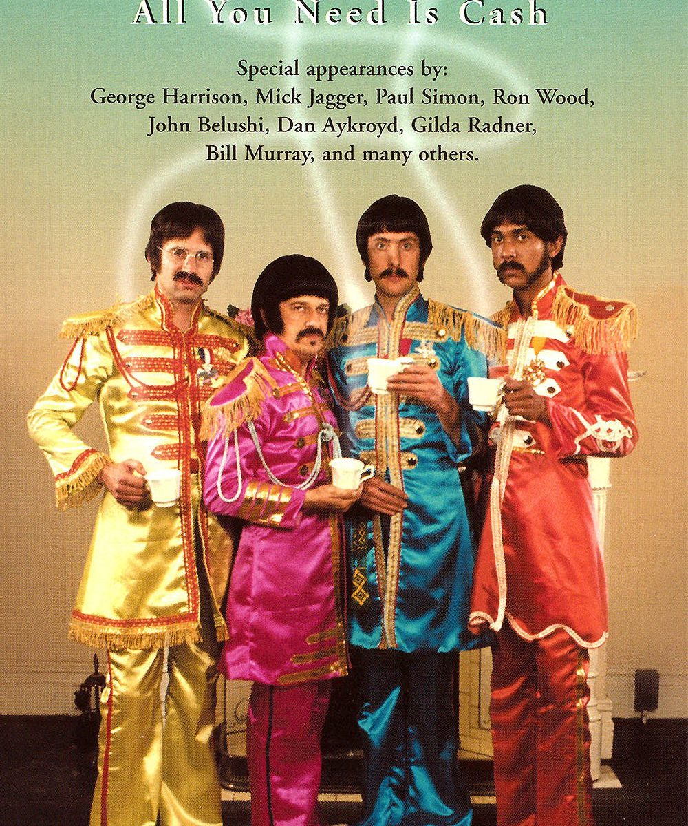 "Poster for the movie ""The Rutles: All You Need Is Cash"""
