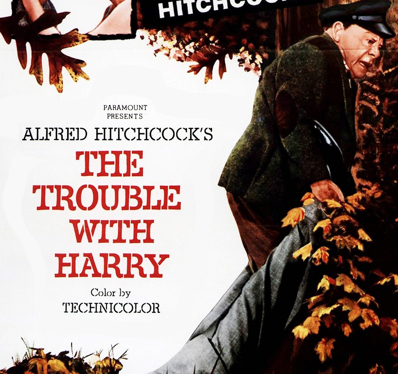 "Poster for the movie ""The Trouble with Harry"""