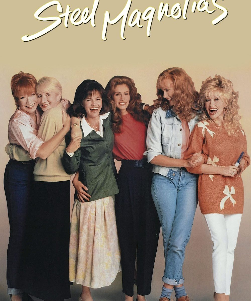 "Poster for the movie ""Steel Magnolias"""