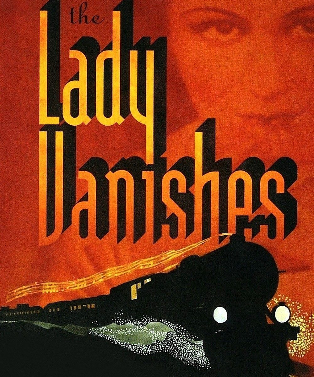 "Poster for the movie ""The Lady Vanishes"""
