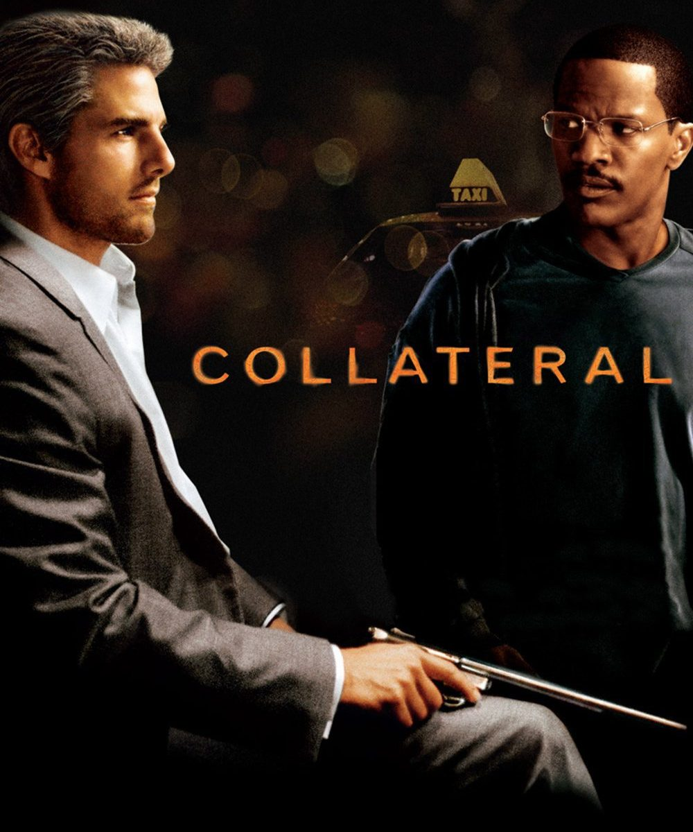 "Poster for the movie ""Collateral"""
