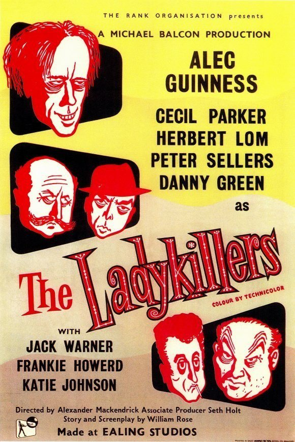 "Poster for the movie ""The Ladykillers"""