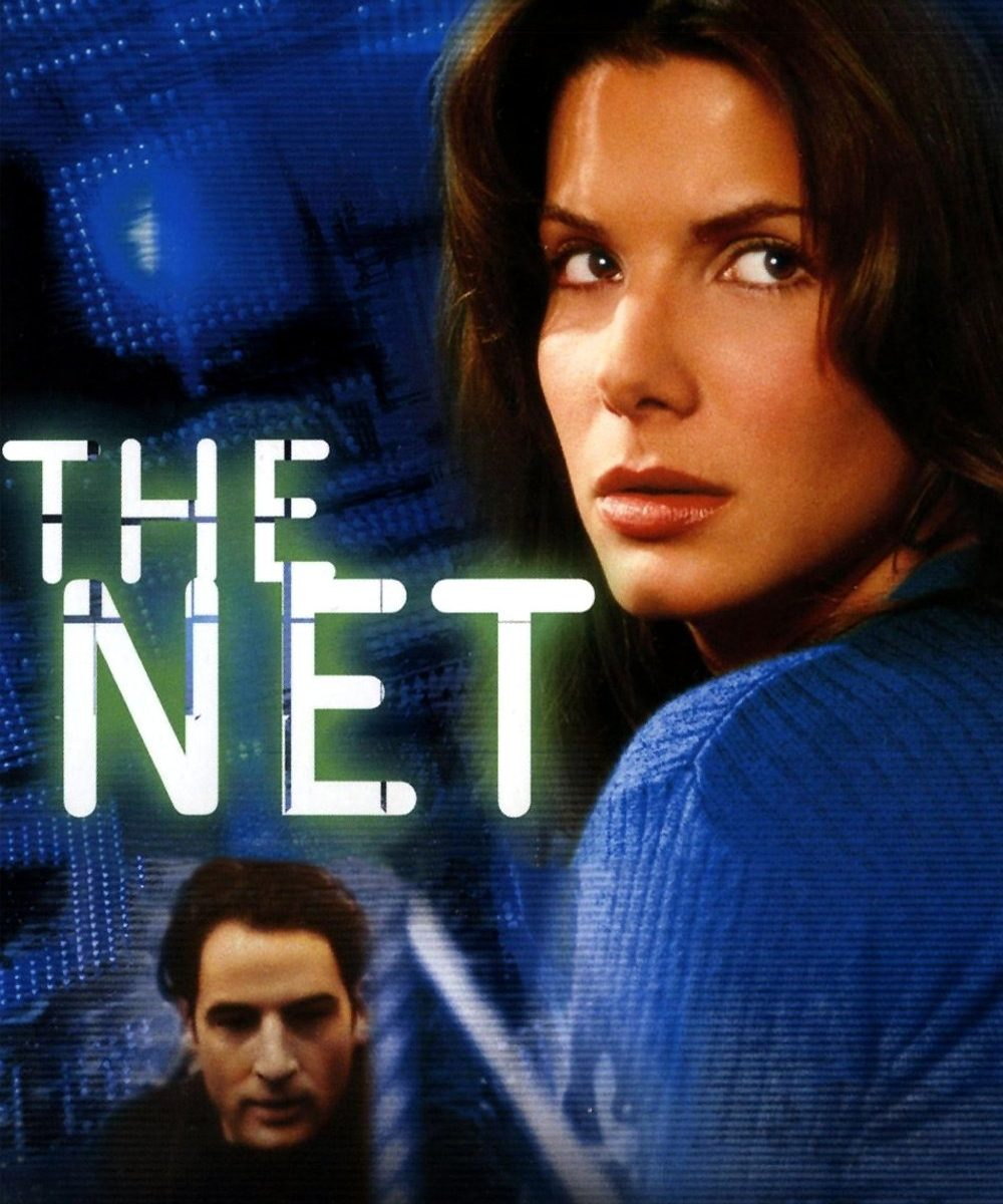 "Poster for the movie ""The Net"""