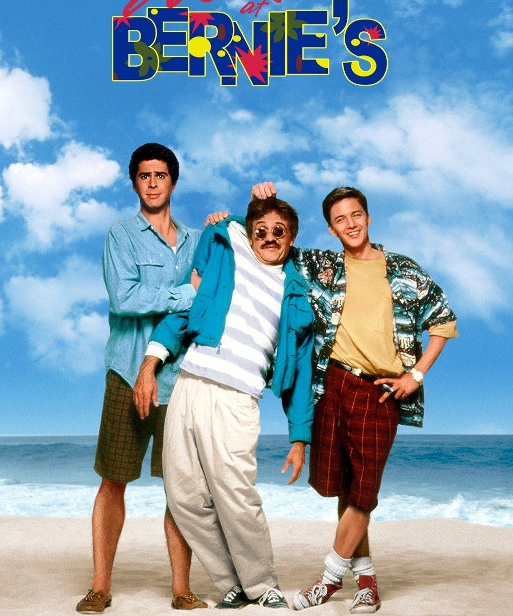 "Poster for the movie ""Weekend at Bernie's"""