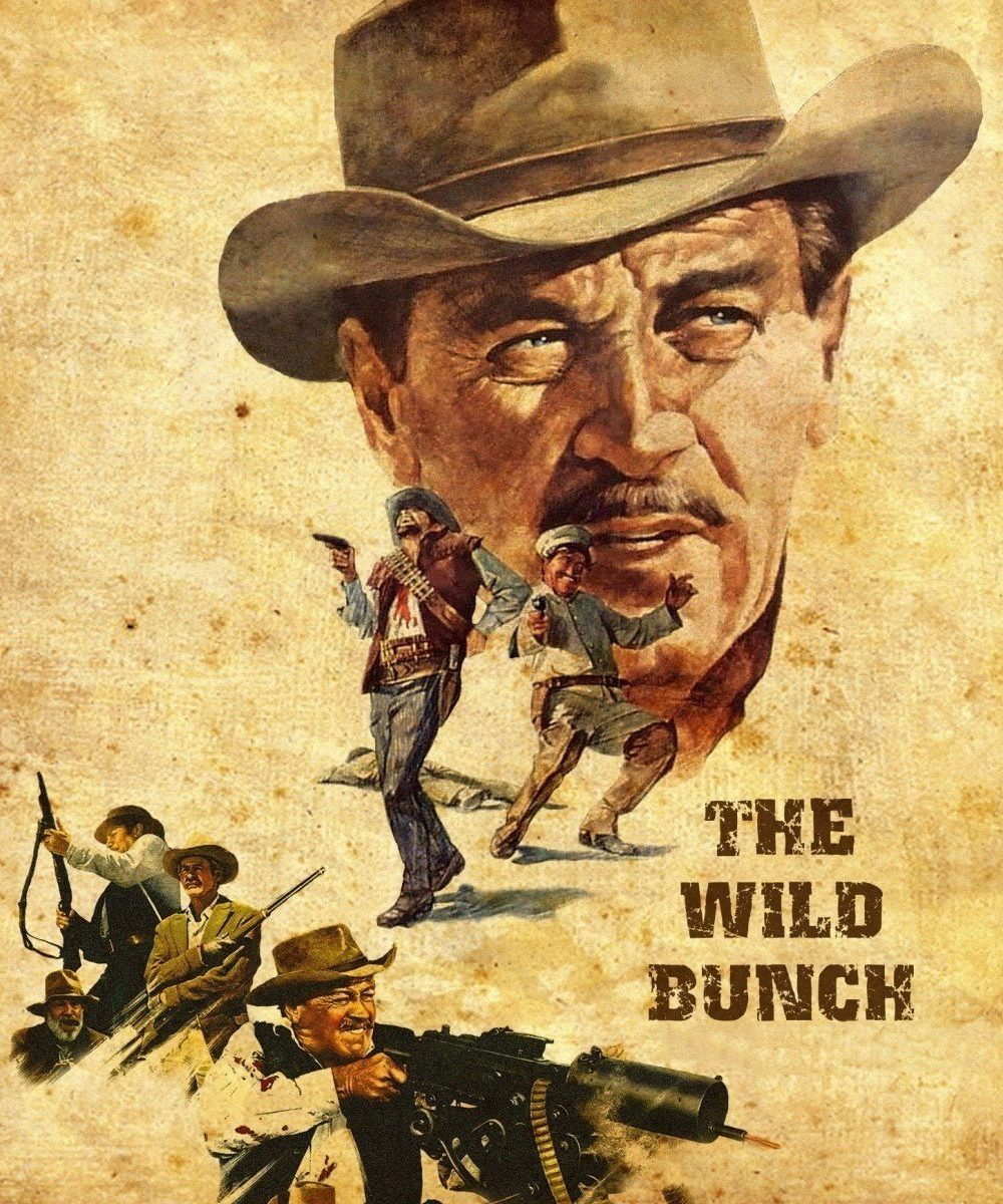 "Poster for the movie ""The Wild Bunch"""