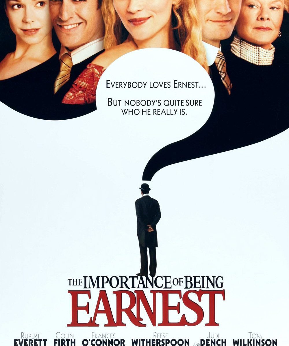 "Poster for the movie ""The Importance of Being Earnest"""
