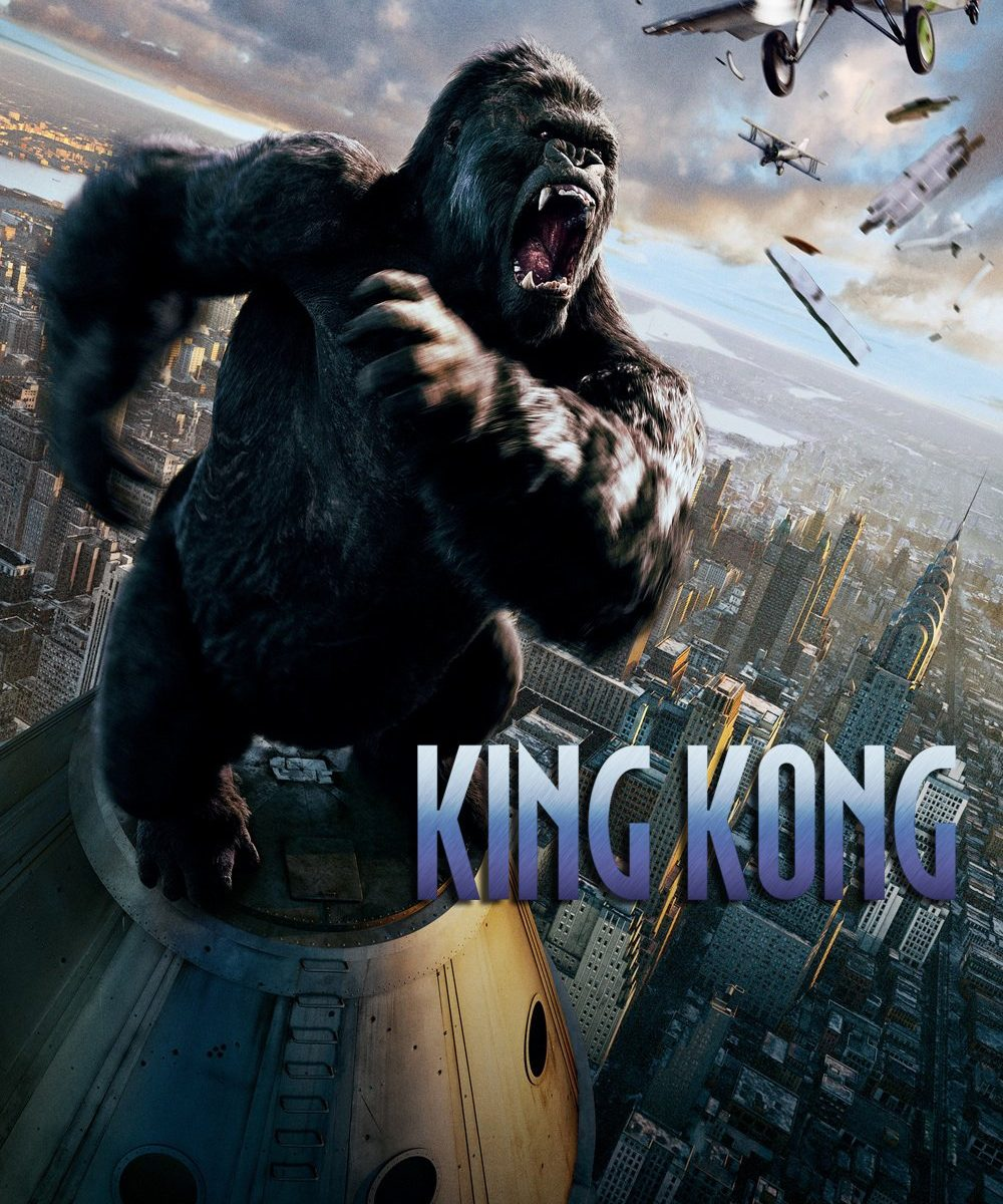 "Poster for the movie ""King Kong"""