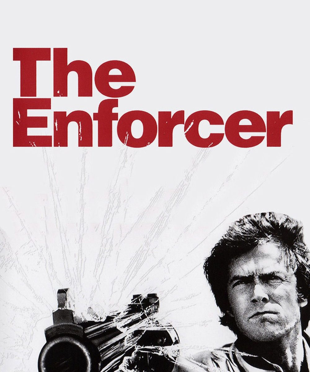 "Poster for the movie ""The Enforcer"""