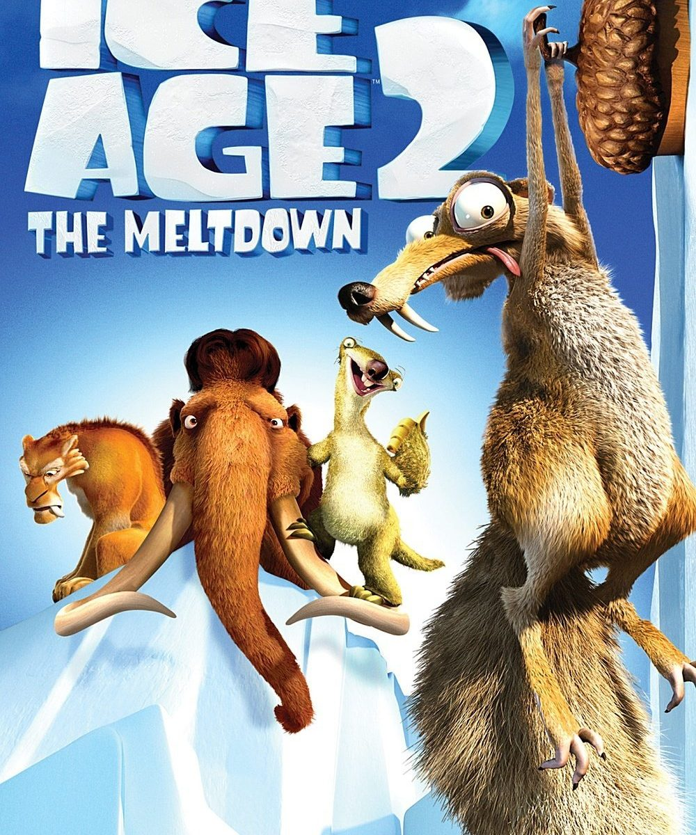 "Poster for the movie ""Ice Age: The Meltdown"""