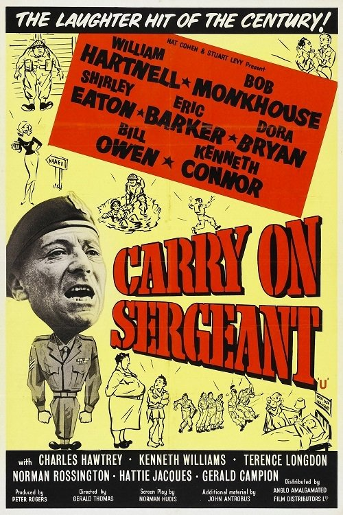 "Poster for the movie ""Carry On Sergeant"""