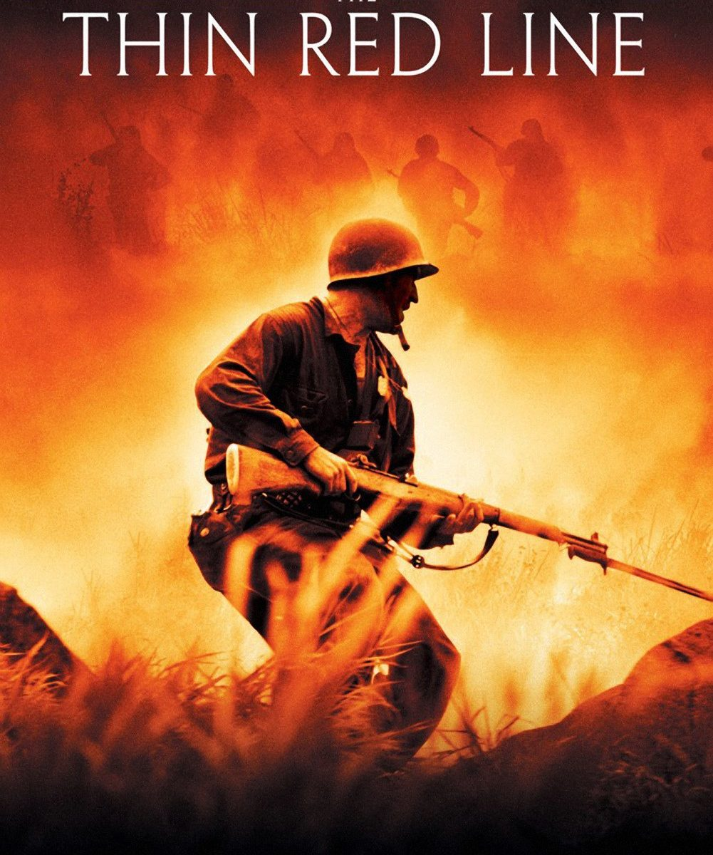 "Poster for the movie ""The Thin Red Line"""