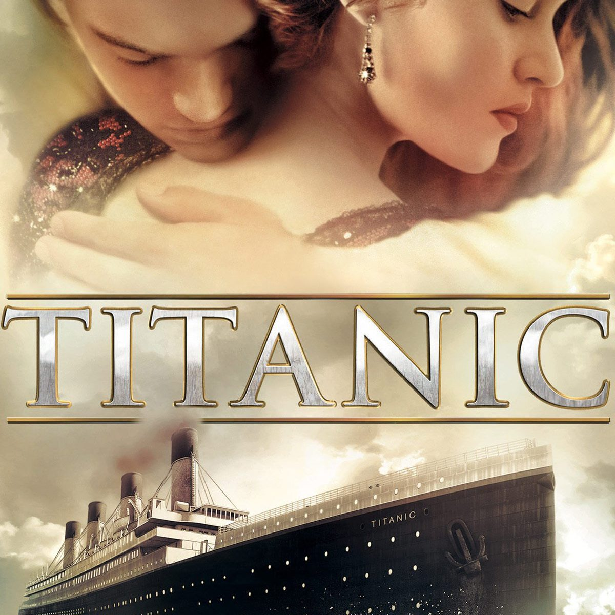 "Poster for the movie ""Titanic"""
